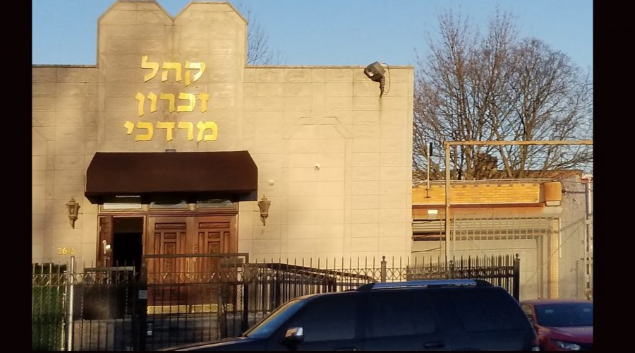 A+bullet+was+fired+into+a+Brooklyn+synagogue.+The+NYPD+is+investigating.