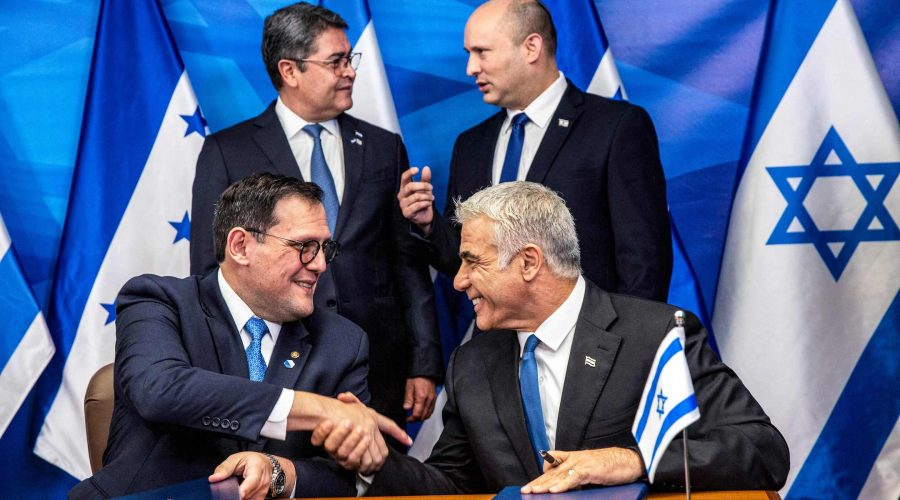 Honduras+opens+embassy+in+Jerusalem%2C+becoming+4th+country+to+make+the+move