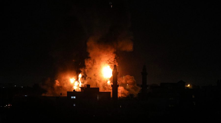 Incendiary balloons from Gaza prompt new Israeli airstrikes