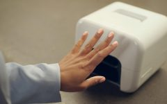 The Nimble machine does your nails at home, automatically. Photo courtesy of Nimble