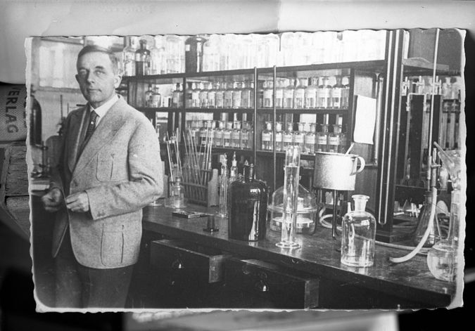 The gay, Jewish scientist the Nazis left alone