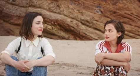 """Zoe Lister-Jones and Cailee Spaeny in """"How It Ends"""" (American International Pictures)"""