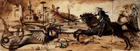 St. George vs. Dragoon.