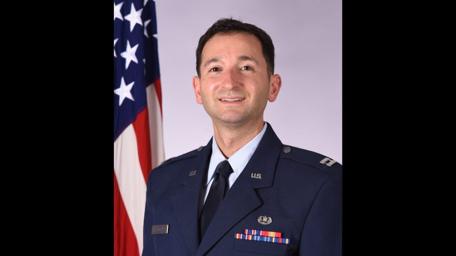 St. Louis native honored for service as Air Force Captain