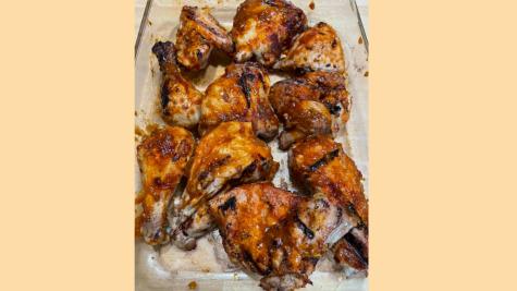 Adventures in Kosher Cooking: Honey chipotle bbq chicken