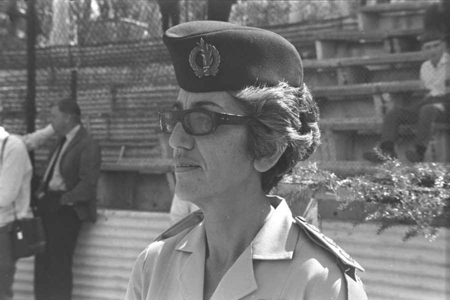 JULY 19:Stella Levy, shown in 1970, commanded the IDF Women's Corps for six years. Photo by Fritz Cohen, Israeli National Photo Collection