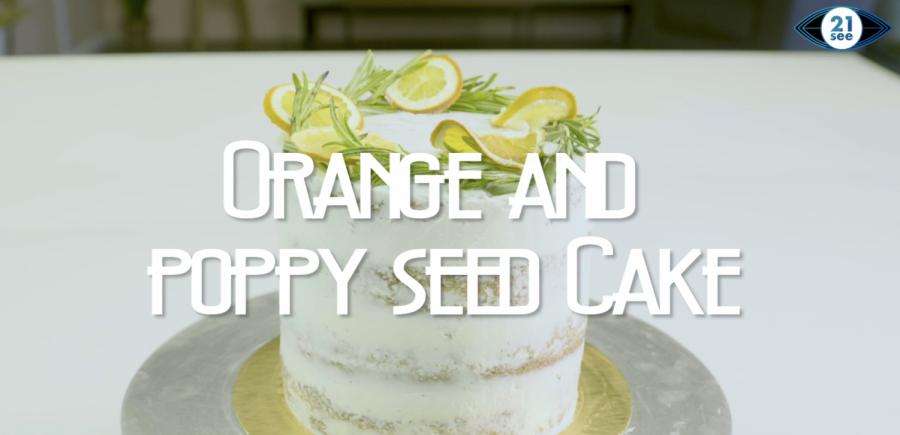 Bake this delightful orange-poppy cake for dessert tonight