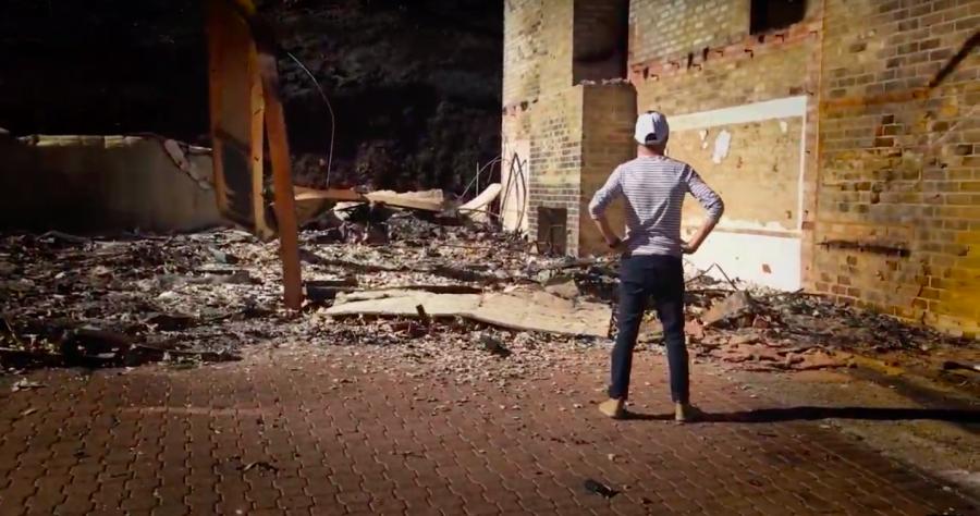 Screenshot of Charlie Kramer's music video for