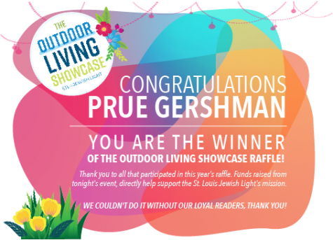 Congratulations to our Outdoor Living Showcase raffle winner! Watch the event HERE