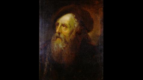Jewish Art Inside The St. Louis Art Museum: Portrait of an old Jew