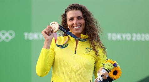 Australian Jewish kayaker Jessica Fox wins bronze —again —at Tokyo Olympics
