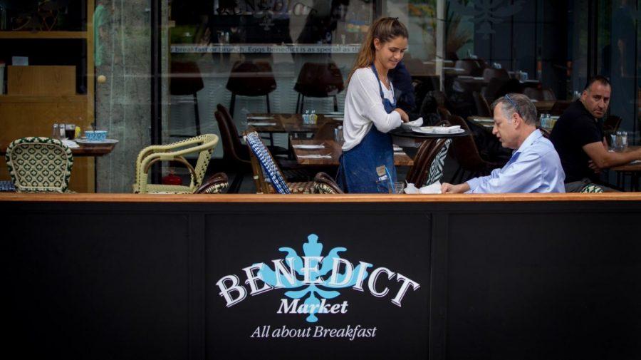 Benedict%E2%80%99s+Sarona+Market+location.+The+chain+offers+breakfast+in+Tel+Aviv+24%2F7.+Photo+by+Miriam+Alster%2FFlash90