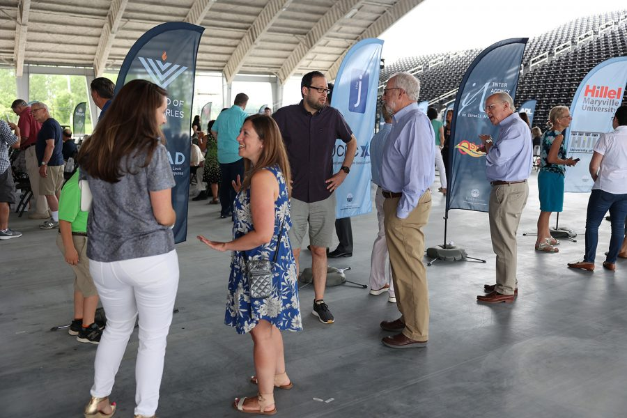 Jewish Federation of St. Louis held its 2021 Campaign Kickoff June 30 at Centene Music Park in Maryland Heights. Guests enjoyed a performance by Jewish musical artist Chava Mirel and a chance to meet the  community's new Shinshinim.