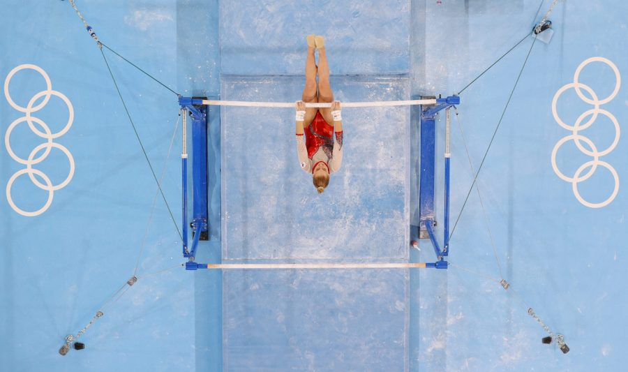 Russia%27s+Lilia+Akhaimova+competes+on+uneven+bars+day+two+of+the+Tokyo+2020+Olympic+Games+on+July+25%2C+2021.+%28Laurence+Griffiths%2FGetty+Images%29