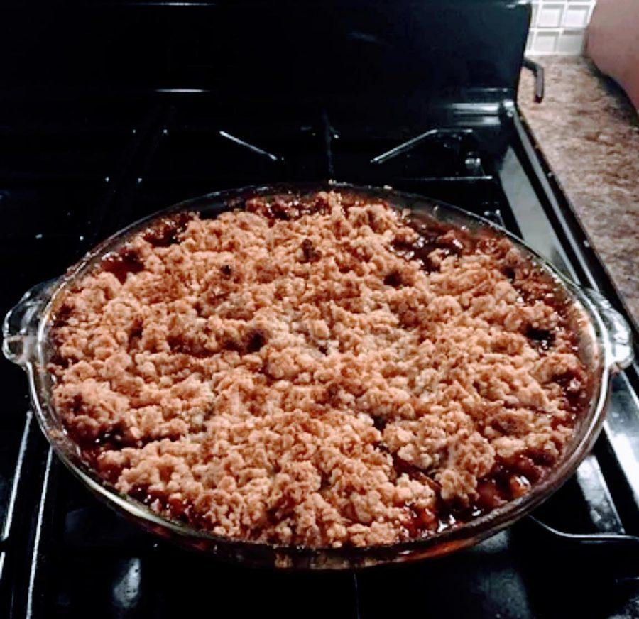 Kosher+Recipe+Alert%3A+Apple%2C+Pear+and+Pomegranate+Crisp