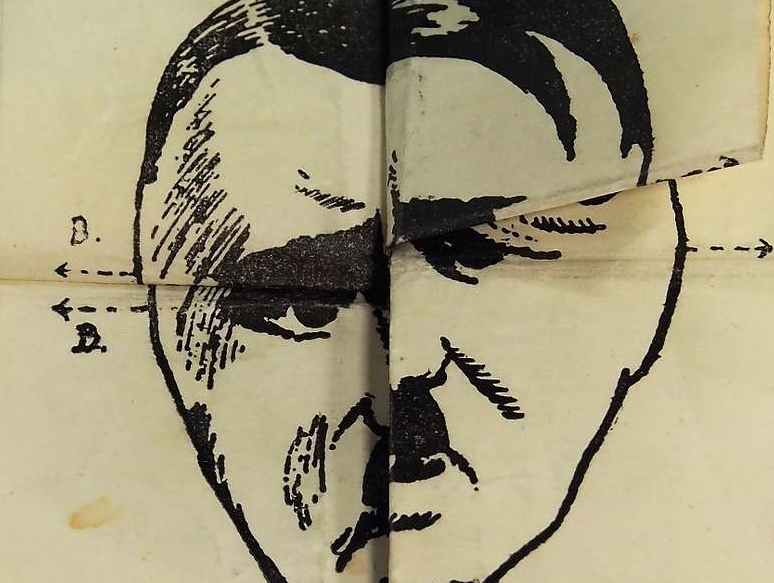Though many if not most leading psychoanalysts at the time were German-speaking Jews, they offered very few public attempts to psychologically analyze Hitler. (Image: Dutch anti-Hitler propaganda, ca. 1940s / Public domain)
