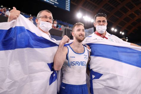 Israeli gymnast wins gold for Israel, its second ever!
