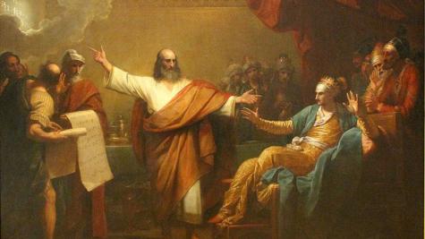 Jewish Art Inside The St. Louis Art Museum: Daniel Interpreting to Balshazzar