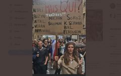 French police detain woman for poster deemed antisemitic at COVID protest