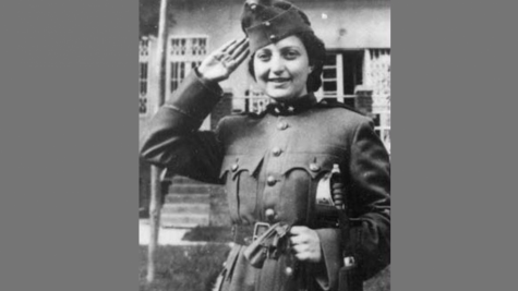 Hannah Senesh. Credit: Jewish Virtual Library.