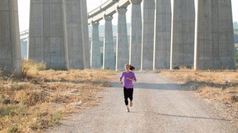 Marathoner Beatie Deutsch. Photo by Kinneret Rifkind