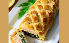 Kosher Recipe Alert: Salmon Wellington