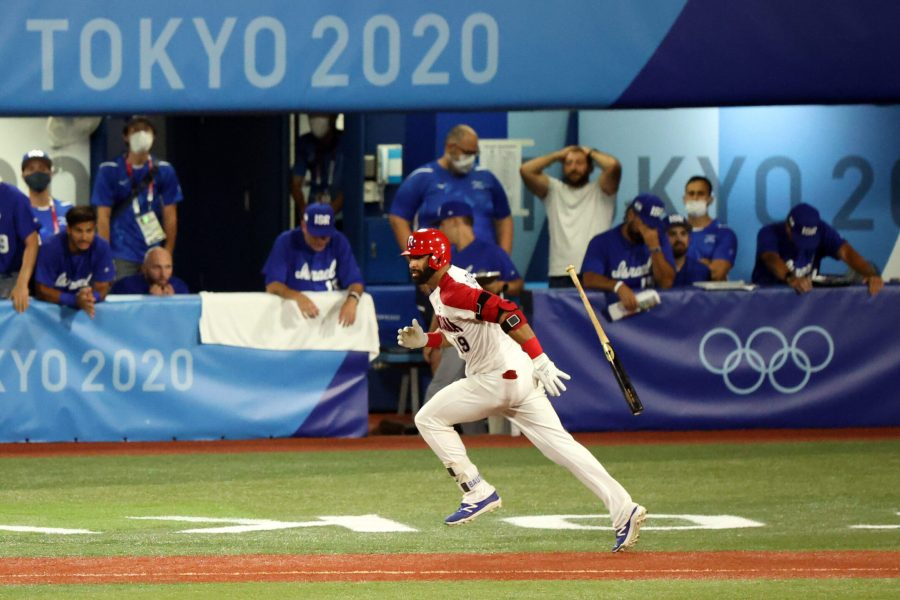 Team+Israel%E2%80%99s+Olympic+baseball+run+ends+after+9th-inning+loss+to+Dominican+Republic