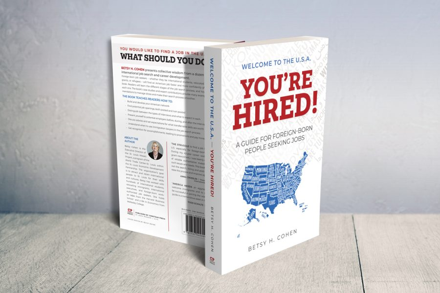 Betsy Cohens new book demystifies tactics for foreign-born job seekers