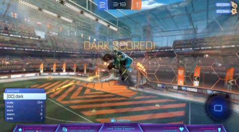 A snapshot of Rocket League, a popular online game. (Screenshot)