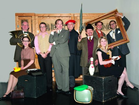 New Jewish Theatre will revisit Neill Simons Laughter on the 23rd Floor for the opening of its 2022 season. Above: A photo of the cast of NJTs 2010 production of the play. (John Lamb)