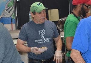Lenny Kohn, co-owner of Kohns Kosher Deli