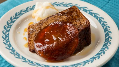 Honey cake with apple confit (Michael Persico)