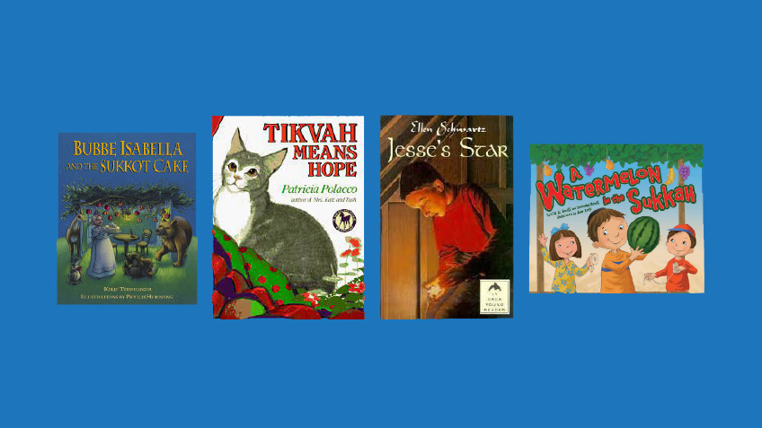 Childrens books for Sukkot from PJ Library