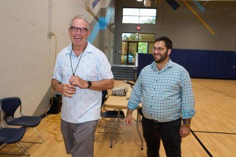 (L-R) Michael Staenberg and Mr. Dovid Love, MTI Campus Administrator