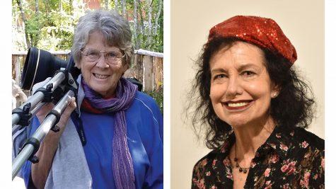 Marian Brickner (left) and Susan Fadem