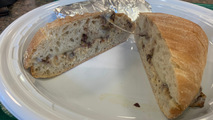 Local Eat of the Week: Circle@Crown Café's Mediterranean Panini