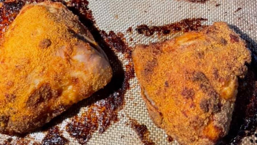 Kosher+Recipe+Alert%3A+Oven+fried+chicken+with+Tabasco+garlic+marinade