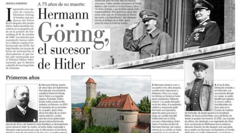 Chilean newspaper draws outrage with tribute to Nazi leader Hermann Göring