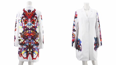 Scott Brandt among white lab coat artists hoping fashion can fight cancer