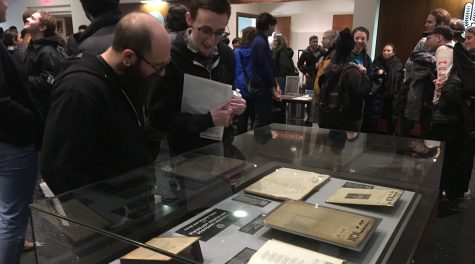 The YIVO Institute for Jewish Research in New York reached into its archives and invited guest speakers for an all-day event on the history of Yiddish anarchism, Jan. 20, 2019. (JTA Photo)