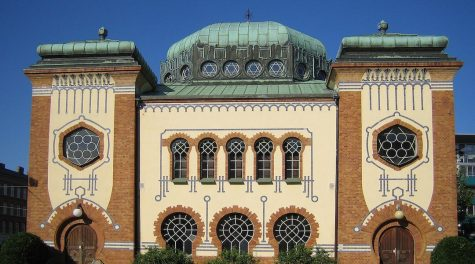 The main synagogue in Malmö, Sweden. (Wikimedia Commons)