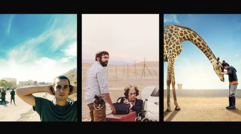 Netflixs new Palestinian Stories film collection includes a few dozen noteworthy Palestinian films from the past few decades, including (from left) the Oscar-nominated Omar and Ave Maria, and Giraffada. (Netflix)