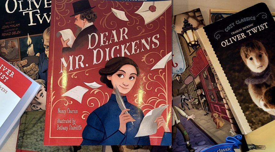 The+Charles+Dickens+Museum+in+London+is+featuring+the+book+%E2%80%9CDear+Mr.+Dickens%E2%80%9D+as+part+of+its+current+exhibit%2C+More%21+Oliver+Twist%2C+Dickens+and+Stories+of+the+City.+%28Charles+Dickens+Museum+%28Charles+Dickens+Museum%29