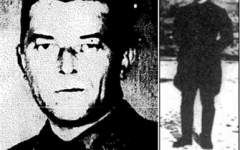 August Häffner,left, and Viktor Trill, two of the perpetrators of the Babi Yar massacre