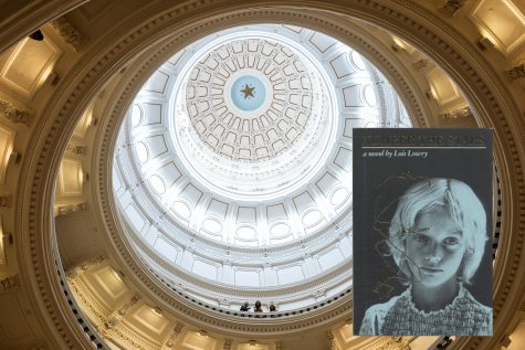 The Texas State Capitol rotunda, seen from below, is where state legislation is passed. Teachers wondered whether Number the Stars, a Holocaust novel, would require an opposing perspective under the terms of a new education law there. (Tamir Kalifa/Getty Images)